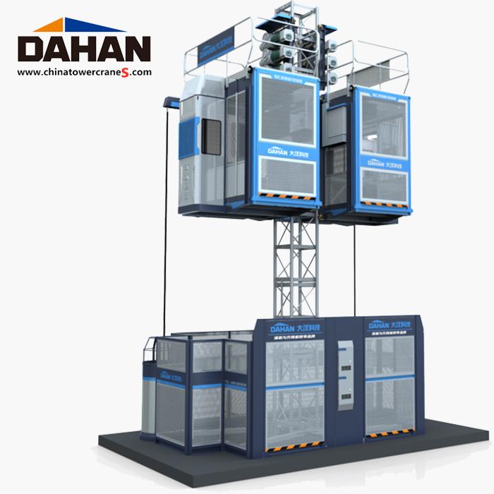 Dahan брэндийн барилгын лифт.